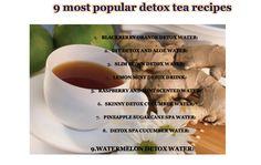 Most Popular Detox Tea Recipes : Detox Drinks & Recipes for ...