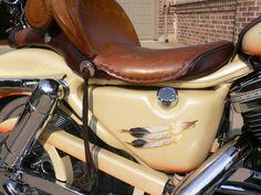 1995 Harley-Davidson® XLH-1200 Sportster® 1200 (beige/orange/blue), North Richland Hills, Texas (474594)   ChopperExchange.com