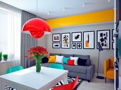 This Gallery-Like Home Reflects A Different Art Style In Every Room