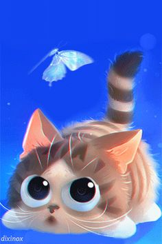A photo edited with PicMonkey Cartoon Cartoon, Cartoon Images, Cute Images, Cute Pictures, Gif Bonito, Gif Lindos, Good Night Gif, Image Cat, Beautiful Gif