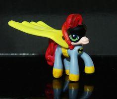 My Little Pony Batman Batgirl Custom figure Bat pony Superhero MLP #Hasbro