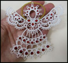 tatting | Tatting 83 - Free-Standing Tatted Angel Designs by Murphy's Designs