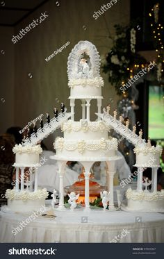 Big Wedding Cake Stock Photo (Edit Now) 97093367 wedding themes – Wedding İdeas Extravagant Wedding Cakes, Big Wedding Cakes, Elegant Wedding Cakes, Beautiful Wedding Cakes, Wedding Cake Designs, Wedding Cake Toppers, Wedding Themes, Beautiful Cakes, Dream Wedding