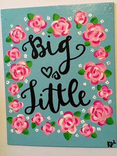 Big Loves Little Lilly Pulitzer Sorority by KimberlyPaigePorter