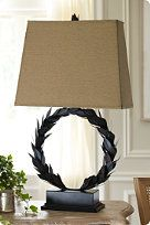 Laurel Wreath Table Lamp