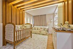 Quarto de Bebê – Veja decoração de Quarto de Bebê Completo Baby Bedroom, Baby Boy Rooms, Princess Nursery, Interior Exterior, Decoration, Cribs, Kids Room, Toddler Bed, House