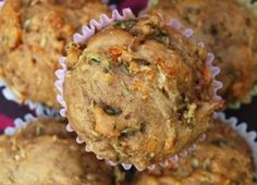 muffins from juicer pulp!