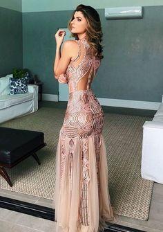 Glamorous Chiffon Off-the-shoulder Neckline Mermaid Formal Dresses With Lace Appliques Elegant Dresses, Pretty Dresses, Sexy Dresses, Beautiful Dresses, Dress Outfits, Fashion Dresses, Dress Up, Formal Dresses, Gala Dresses