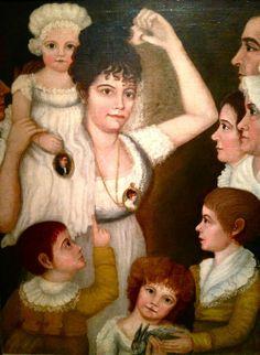 1807 The Smith Family 1807 Rachel King Smith (1774-1823) and James Smith (1762-1818), Dumfries, Virginia