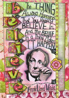 Art Journal Ideas Art journal caravan page �
