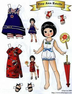 Clearly inspired by Tonner dolls, but certainly not Mary Englebrite's style. By Siyi Lin.