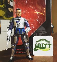 from The Collectors Hutt  #StarWars Jango Fett 6-inch Action Figure Review! Attack Of The Clones