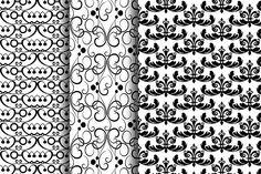 #Black_and_ White Patterns https://ru.fotolia.com/p/201081749, http://ru.depositphotos.com/portfolio-1265408, https://creativemarket.com/kio
