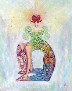 Arte Chakra, Chakra Art, Sacral Chakra, Art Floral, Image Zen, Art Visionnaire, Yoga Studio Decor, Spirited Art, Goddess Art