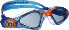 Aqua Sphere Kayenne Jr Goggles BlueOrange with Smoke Lens ** Click image to review more details.Note:It is affiliate link to Amazon. #liking