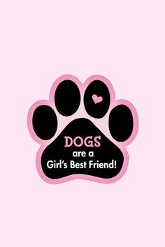 Every word right there is true about dogs and girls
