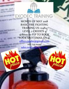 EXODEC provides training on a wide-range of safety, health and environmental topics, driven machinery and safety topics. Fire Safety Training, Safety Topics, Fire Fighters, Health And Safety, Book, Firemen, Firefighters, Book Illustrations, Books