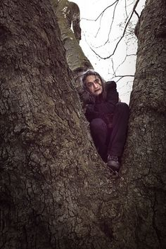 This Sunday is Earth Day. This Saturday is the birthday of Robert Smith of The Cure. And to celebrate, this Friday, April 20th, KEXP presents Goths In Trees Day.    Inspired by the website Goths Up Trees, we'll be featuring photos of your favorite DJ's and KEXP staff dressed as goths… y'know, in trees.