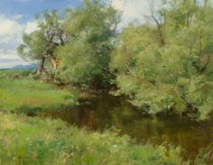 "Clyde Aspevig ""Willow                      Trees"""