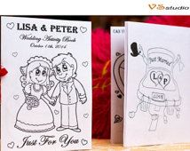 Kids Wedding Activity Book Printable - Wedding Printable coloring pages - Personalized