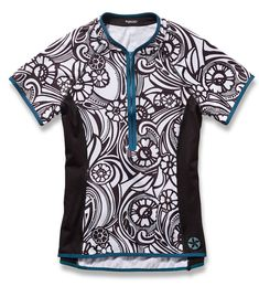 Lady Luck Short Sleeve Cycling Jersey by Sassy Cyclist e2fd405c5