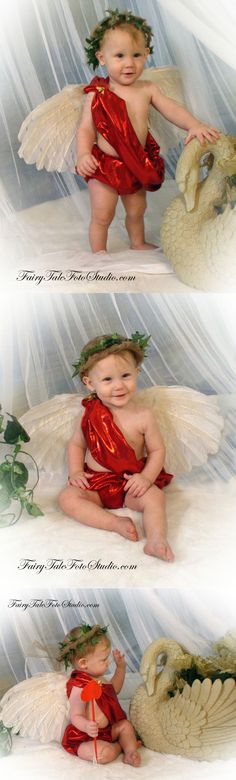 Baby Boy Cupid Costume Angel Valentine's Day Portrait Poses | Photo Idea | Photography | Cute Kid Pic | Baby Pics | Posing Ideas | Kids | Children | Child | ~Bountiful Utah Photographer close to Salt Lake City | Ogden | Provo UT~