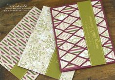 Harlequin Holiday Trio by Nichole Heady for Papertrey Ink (September 2012)