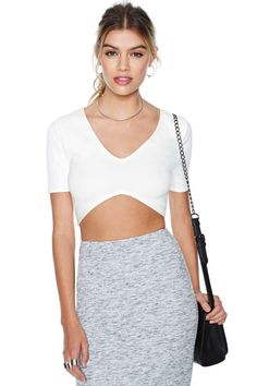 Highest Peak Crop Top