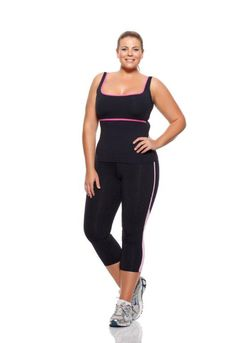Women's plus size workout clothes feature a range of bold hues, fresh prints and cuts made to compliment curves. Train in style with plus size workout shirts and plus size pants designed for a comfortable fit and lightweight feel.
