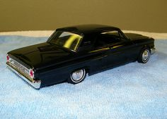 1964 Ford Fairlane Sports Coupe Promo Model Car - Raven Black | Flickr - Photo Sharing!