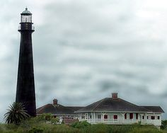 Port Bolivar Lighthouse - Galveston, Texas