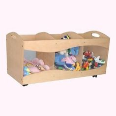 "Orgjunkie.com recommends our Clear Side Toy Storage Box as a Toy Storage Solutions that's ""fabulous, fun and functional!"""