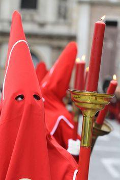 Semana Santa en Murcia. Spain