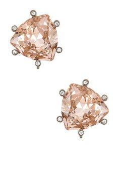 Prudence C | Triangular Crystal Stud Earrings | Nordstrom Rack