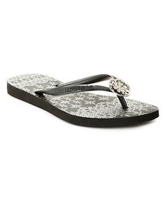 b00afe79b0f3c Havaianas Slim Lace Thong Sandals Shoes - Macy s