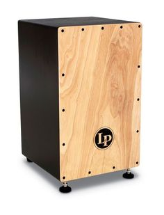 Latin Percussion LP Cajon Box Drum LP1432 The LP Cajon allows you to vary the tension of internal strings easily with a standard drum key and has front, height adjustable feet that allow the Cajon to