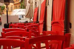 Sulle strade del centro di Roma