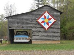Barn quilts in Garrett County [Pictures] | Barn quilts ...