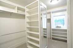 Another view - love that it's got a full length mirror on one side and shelves on the others, still not sure if I have room for it though.