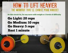 Think you're lifting as heavy as you can? We've got a great fitness hack to help you lift heavier in just one workout!
