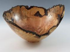 Natural Edge Maple Bowl