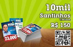 Promoção de 1.000 Santinhos