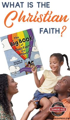 What is the Christian faith? Teach your kids the essential truths of the Christian faith with family devotions by Sinclair Ferguson! Christian Pictures, Christian Kids, Christian Faith, Best Children Books, Books For Boys, Bible Story Book, Devotions For Kids, Book Log, Prayer For Family