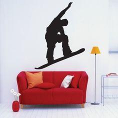 www.stickurz.com, Snowboard, Freestyle, Sport, Kids, Teenager, Sticker, Wall Decal, Design, Decoration, wall tattoo