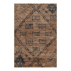 Found it at Wayfair - Zuni Geometric Brown Area Rug