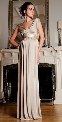 Anastasia Maternity Gown (Gold Dust) - Maternity Wedding Dresses, Evening Wear and Party Clothes by Tiffany Rose Maternity Bridesmaid Dresses, Maternity Wear, Maternity Fashion, Wedding Dresses, Prom Dresses, Pregnancy Formal Dresses, Pregnant Wedding Dress, Pregnant Formal Dress, Pregnancy Outfits