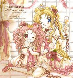 She is such a talented artist. LOVE her stuff. <3  http://tsuki-kioku.com/top.html