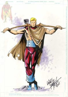 Hawkeye from Avengers Forever by Carlos Pacheco