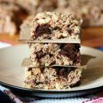 Brownie Batter Krispie Treats