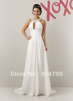 Free shipping Holiday Sale!! 2012  the picture color Wedding Brides Dress Stock size:2 4 6 8 10 12 14 on AliExpress.com. $105.00
